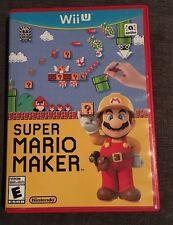 Nintendo Wii U Game Super Mario Maker, Complete, 2015