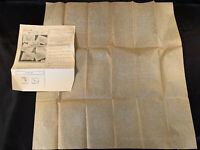 Vintage 1930s N.F.S. Embroidery Transfer Scotty Dogs Towel Pattern No. 428
