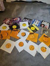 "Abba 7"" Vinyl Single Bundle X19. Dancing Queen Mamma Mia , Waterloo,  knowing me"