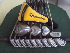 TaylorMade JetSpeed Ping Irons Driver Wood Hybrid Complete Golf Club Set Mens RH