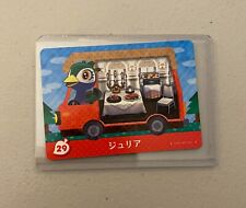 Julia #29 *Authentic* Animal Crossing Amiibo Card | NEW | JPN Version |