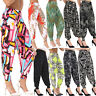 Womens Trousers Pants Hareem Ali Baba Harem Leggings Baggy Plus Size Ladies 8-26