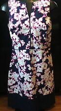 nwt Tommy Hilfiger 79.99 Navy Floral Dress Size 8