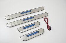 Mitsubishi Outlander ZJ ZK 12-18 LED illuminated Door Sill Protector Scuff Plate