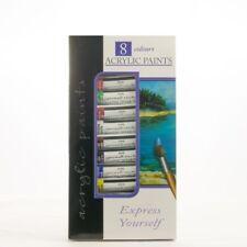Acrylic colour Art Paint 8 Tubes Set - 6ml