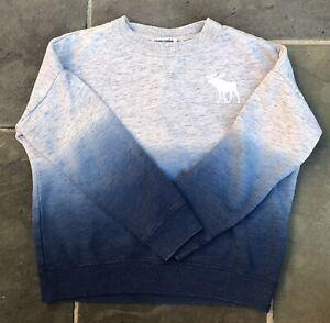 Abercrombie Kids Boys Or Girls Size 7/8 Long Sleeve Ombre Sweatshirt