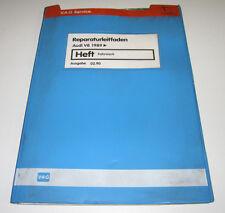Werkstatthandbuch Audi V8 Typ D 11 / D11 Fahrwerk Reifen Stand Februar 1990!