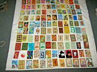 Assorted Lot of 120 Swap Cards Include Butterflies, Cartoon, Designs & Tourism