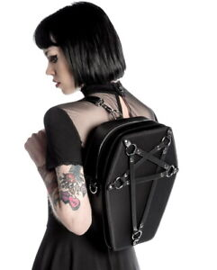 KILLSTAR Hexellent Coffin Backpack Pentagram Strap Gothic Occult RARE NWT Unisex