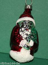 alter Weihnachtsschmuck Christbaumschmuck Weihnachtsmann Belsnickel Baumbehang
