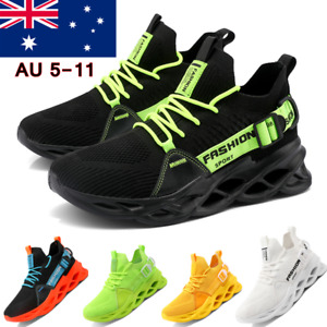 Mens Casual Sneakers Walking Trainer Athletic Sports Running Tennis Shoes Gym