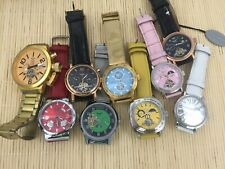 9 defective watches wristwatch automatic different brands - new d150
