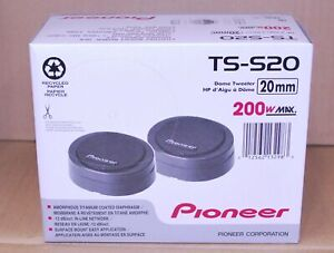 "Pioneer TS-S20 3/4"" High-Power 200 Watt Titanium Coated Component Dome..."