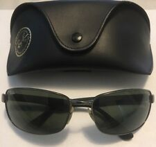 Ray-Ban RB3478 Gunmetal/Black Polarized Sunglasses W/Case!