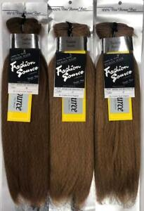 """100% Human Hair for Weaving - 3PACK OF 12"""" HAND TIED STRAIGHT HAIR(#27, #30)"""