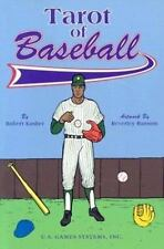 New, Tarot of Baseball Book, Robert Kasher, Beverley Ransom, Book