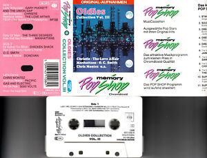 V.A.-OLDIES COLLECTION Vol. III ,Christie,Three Degrees 📼 MC Musikkassette