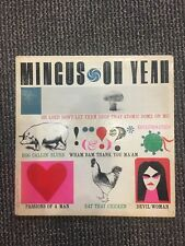 1962 CHARLIE MINGUS OH YEAH SAMPLE COPY NOT FOR SALE JAZZ VG ATLANTIC RARE