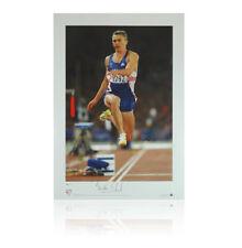 Jonathan Edwards impresión firmada-oro olímpico autógrafo