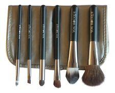 Usted Rocque Conjunto de Pinceles Profesionales De Maquillaje Con Estuche - 6 Cepillos De Calidad Premium T