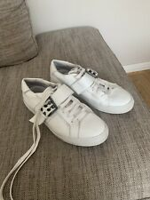 Mens White Just Cavalli Shoes Size 8