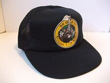 Go Wild African Lion Safari Hat Vintage Black Snapback Trucker Cap