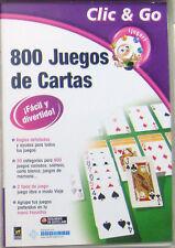 PC: 800 Juegos de Cartas. Original. Completo