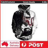 Venom Hoodie 3D Printed Men Women Fashion Sweatshirt Pullover Jumper Jacket Coat