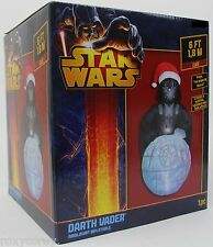 Christmas Gemmy Star Wars 6 ft Darth Vader Kaleidoscopic Airblown Inflatable NIB