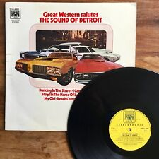 Great Western Salutes The Sound Of Detroit (Marble Arch MALS 1249) Stereo Press
