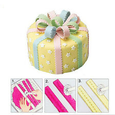 Cake Icing Decorating Tool Pastry Sugarcraft Lace Cutter Knife Baking Mould