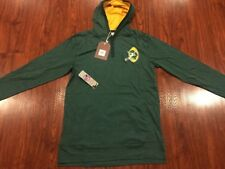 Mitchell And Ness Men's Green Bay Packers Lightweight Hoodie Sweatshirt Large L
