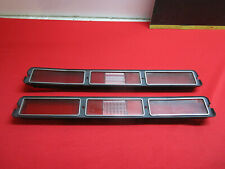 1972 CHEVROLET IMPALA AND CAPRICE TAIL LIGHT LENS PAIR NICE