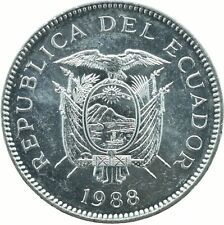 COIN / ECUADOR / 5 SUCRES 1988   UNC    #WT18181