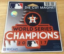 Houston Astros 2017 World Series Champions Die Cut Magnet