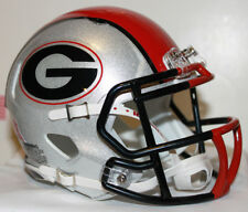 2011 Georgia Bulldogs Custom Riddell Mini Helmet vs Boise State