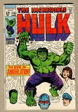 Incredible Hulk #116 - A - The Eve of Annihilation! - 1969 - (6.5) WH