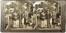 Keystone Stereoview of 7 Polish School Kids, Galicia, POLAND from 1930s T600 Set