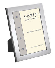 "CONTEMPORARY MODERN PLAIN STERLING SILVER PHOTO / PHOTOGRAPH FRAME (6 x 4"")"