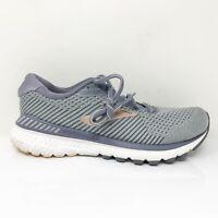 Brooks Womens Adrenaline GTS 20 1202961B073 Grey Gold Running Shoes Size 7 B