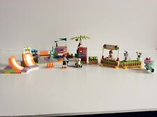 Lego Friends Heartlake Skatepark 41099 and Lemonade Shop 41027