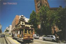 1995 Fred Linden San Francisco Cable Car Womelsdorf Pa Old St. Mary's Church