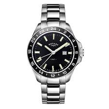 Rotary GB05017-04 Men's Havana Stainless Steel Wristwatch