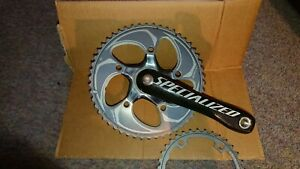Specalized Fact Carbon crankset - 130 or 110 BCD - 175mm - 53/39T or 50/36- New.