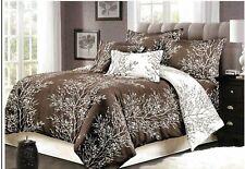New ListingShatex Goose Down Alternative Reversible Comforter Set 3-Piece Queen Branches