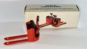 Hard to Find Diecast Conrad 2983 Linde T20 Pallet Truck 1:25 Toy Boxed