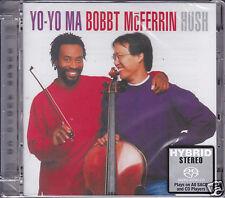 """Yo-Yo Ma & Bobby McFerrin Hush"" Limited Numbered Stereo Hybrid DSD SACD CD Sony"