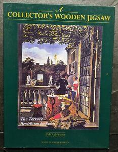 "Wentworth Wooden Jigsaw Puzzle 250 piece ""The Terrace"" Hendrik van der Burch"