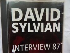 David Sylvian 'Interview 87' CD VGC