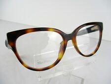 NEW Max Mara MM 1249 (5FC) Dark Havana/Black 55 x 17 140 mm Eyeglasses Frames